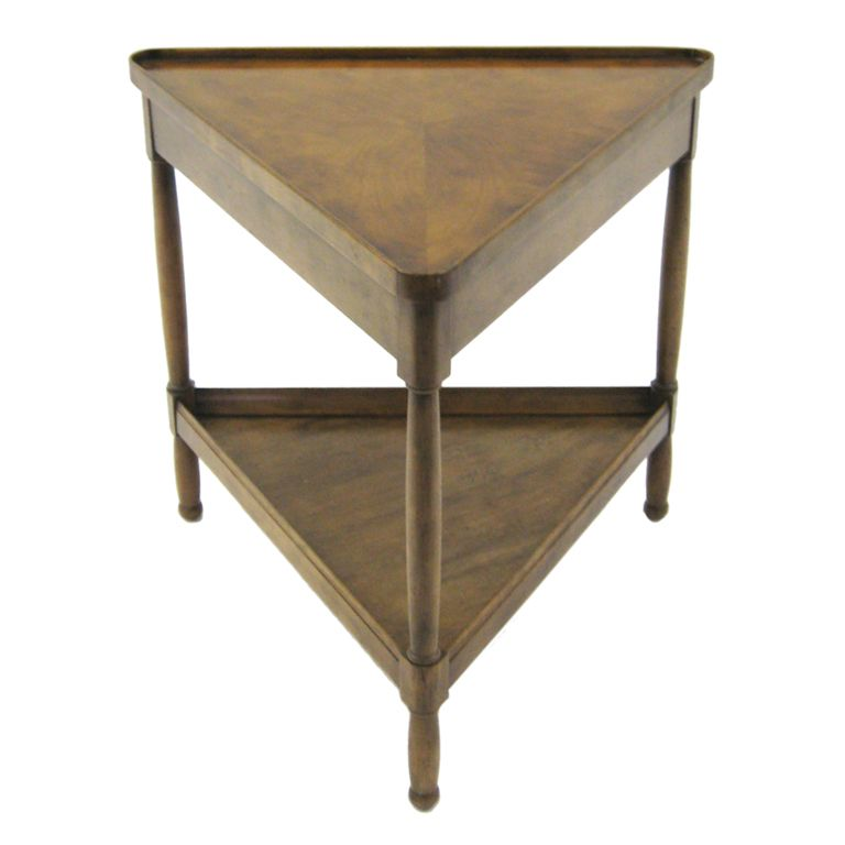 arrives c6353 02b6c Triangular side/ end table by Baker   Home2Decor in 2019 ...