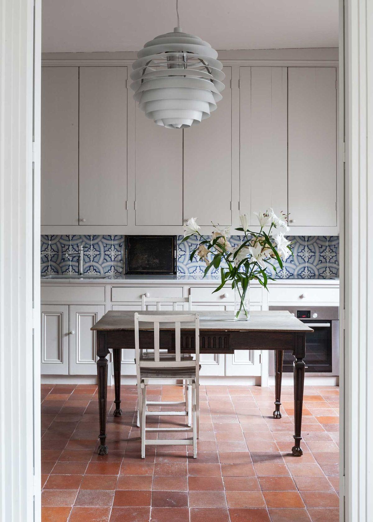 Now Trending Terracotta Tile Floors Kitchen Tiles Design