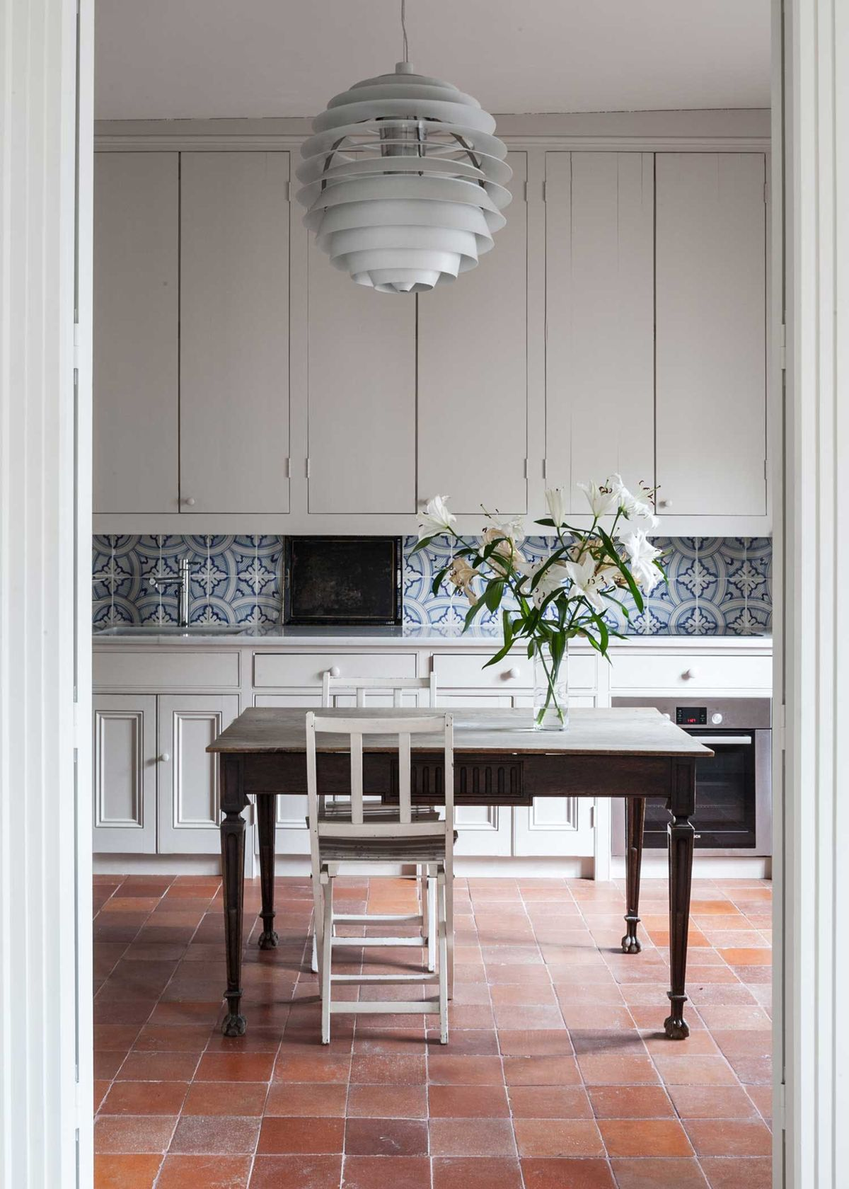 Now Trending :: Terracotta Tile Floors - coco kelley  Kitchen