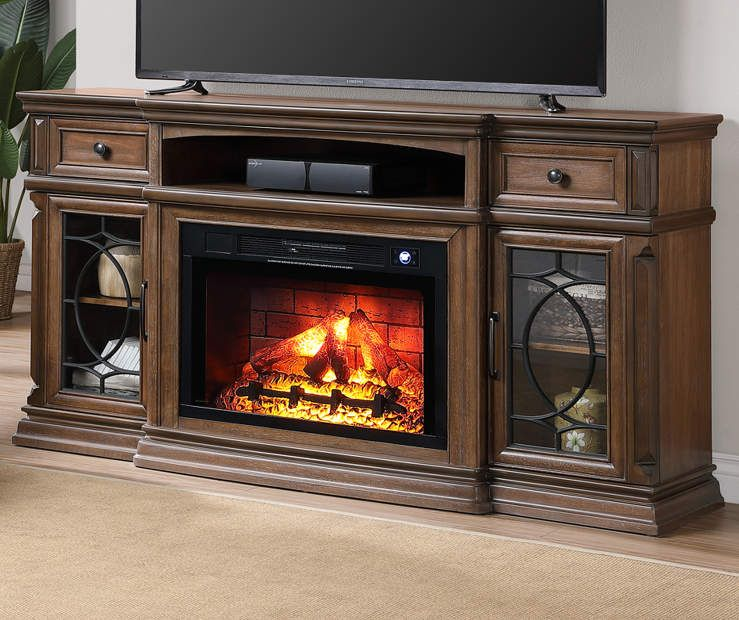Chestnut Electric Fireplace Console Big Lots Electric Fireplace