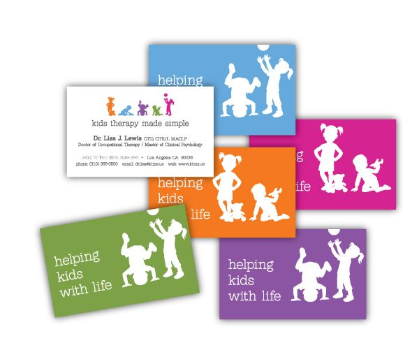Kids Therapy Made Simple Business Cards