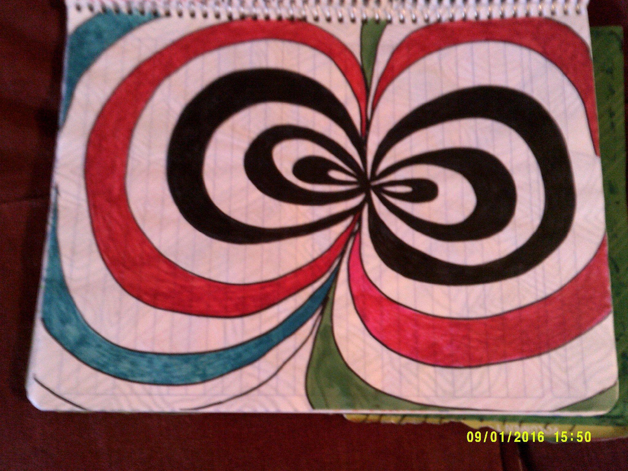 Dibujo Hecho Con Marcadores Marcadores Dibujos