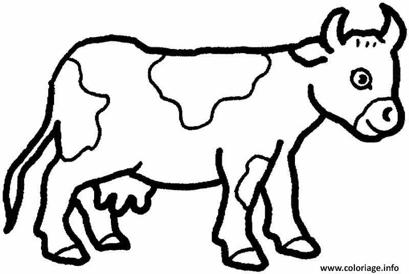 Vache Dessin Facile