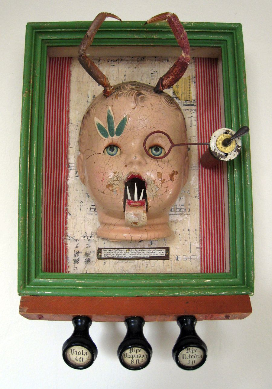 Assemblage: Mutant Baby by bugatha1.deviantart.com on @deviantART
