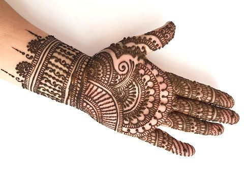 Learn stylish arabic henna mehndi in minutes how to apply mehendi like  professional youtube also rh pinterest
