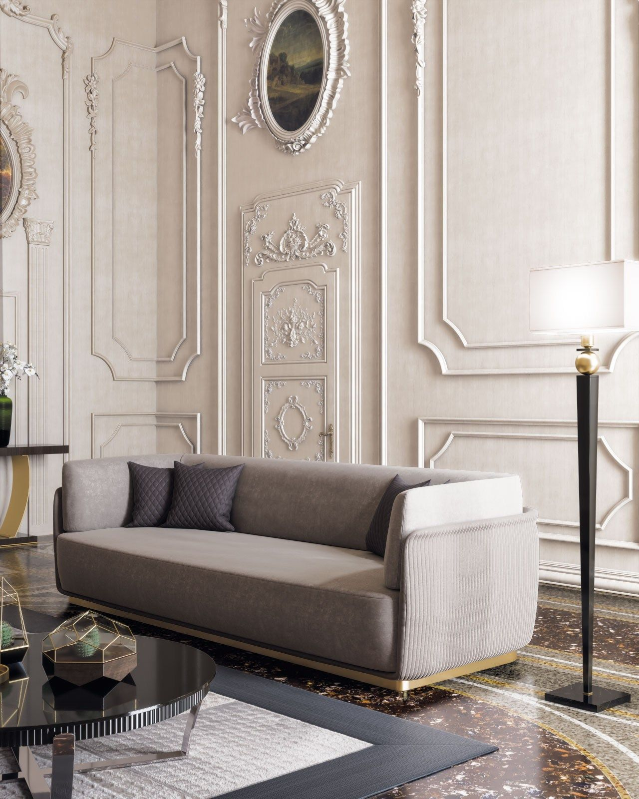 Allure Sofa By Capital Collection Fabric Sofa Allure