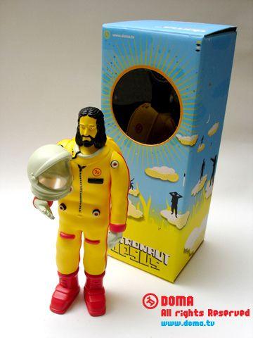Astronaut Jesus // Vinyl doll