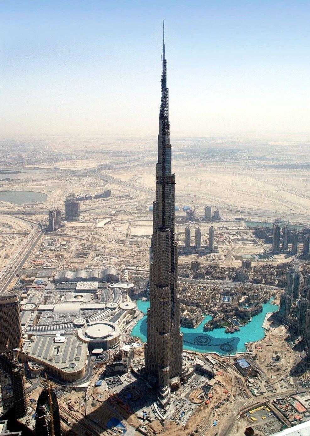 Burj Khalifa Known As Burj Dubai Prior To Its Inauguration Is A