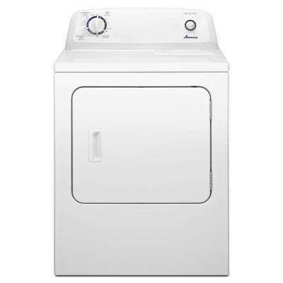 Amana 6 5 Cu Ft 240 Volt White Electric Vented Dryer With