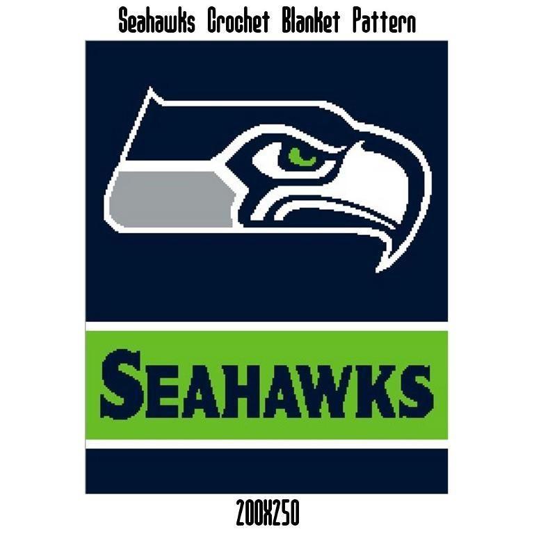 Seahawks Inspired Blanket Crochet Graph Graphghans C2c