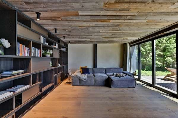 Contemporary chalet in france chalets france contemporary