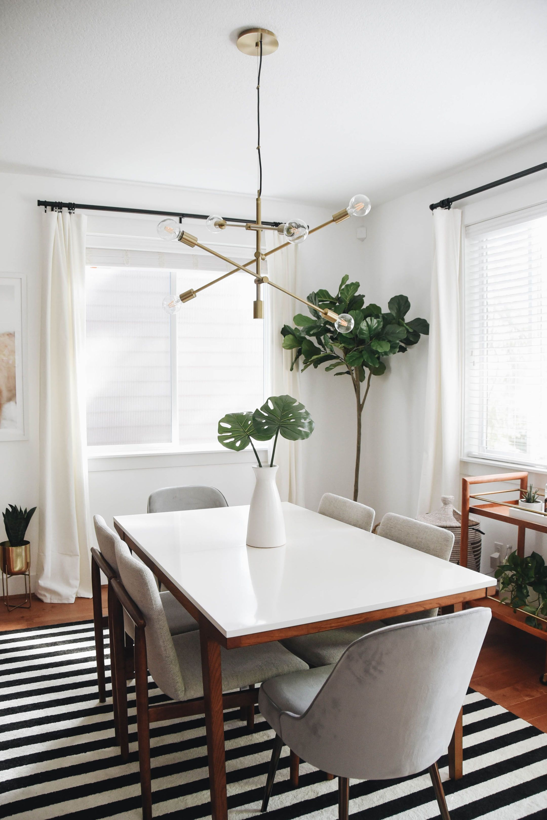 Dining Room Makeover With West Elm Dining Room Style Dining
