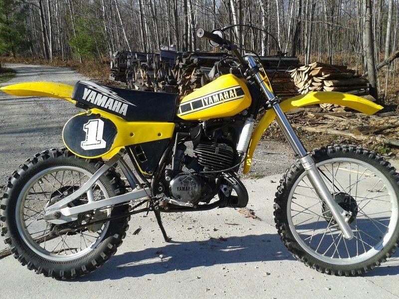 1980 Yamaha Yz125 Vintage Motocross Classic Bikes Dirtbikes