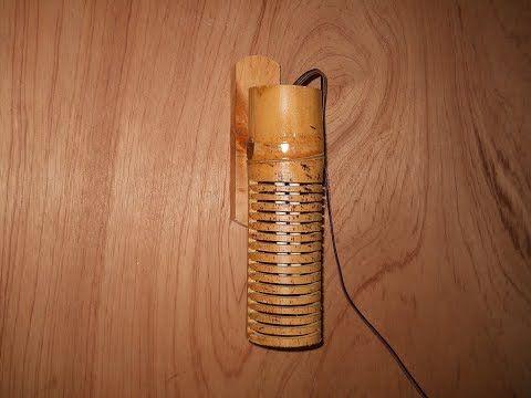 Cara Membuat Lampu Hias Dari Kayu