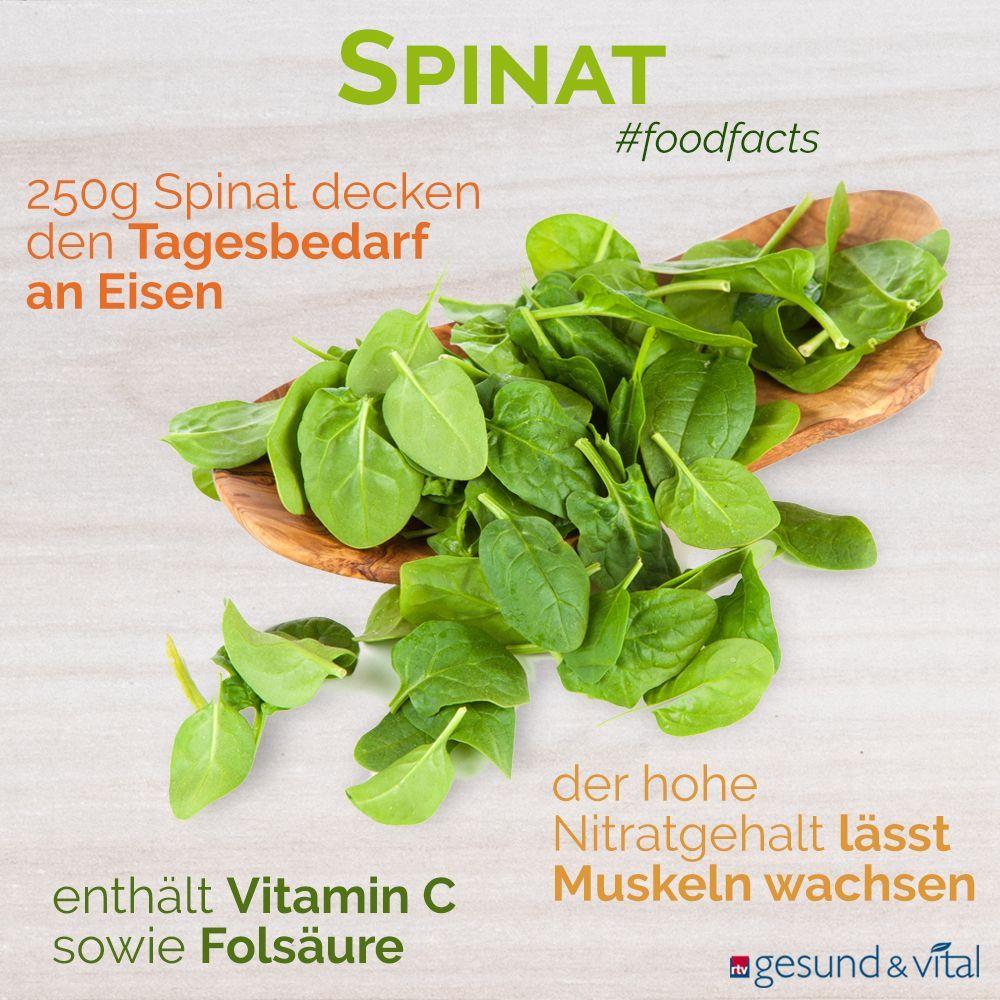 eisengehalt spinat