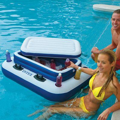 Intex Mega Chill Pool Cooler Amp Reviews Wayfair River