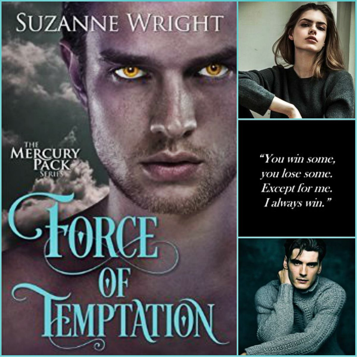 Force Of Temptation The Mercury Pack 2 By Suzanne Wright