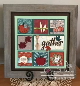 Stampers Dozen Blog Hop - Anything but a Card - BJ's Stampin' Spot
