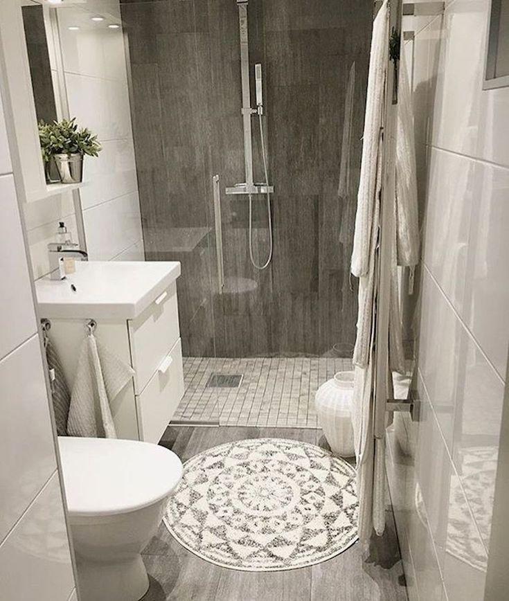 Small Bathroom Ideas In Black White Brass Cococozy Small Bathroom Remodel Bathroom Inspiration Bathroom Interior Design