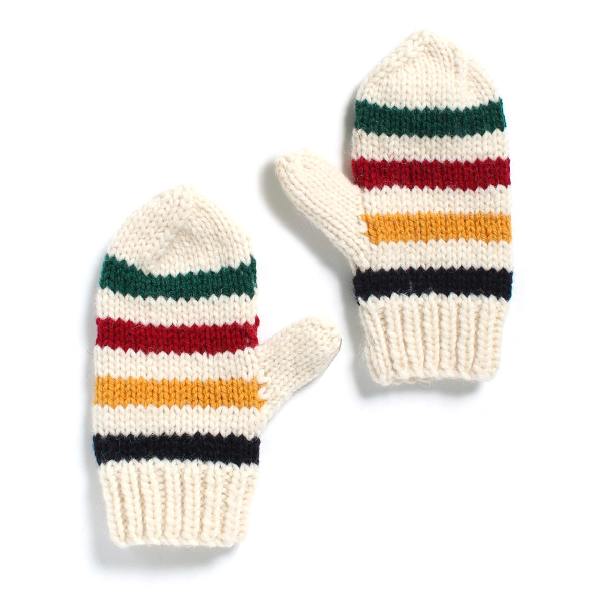 Womens multi stripe mittens hudson bay blanket style patterns bankloansurffo Image collections