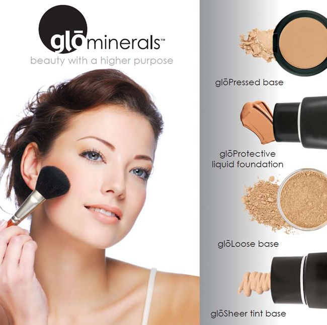 Pin by CFLUXEFAB BEAUTY on Cruelty Free Luxe&Fab Blog(My Curated  Faves&Blogger Faves)   Glo mineral makeup, Mineral makeup foundation, Glo  makeup