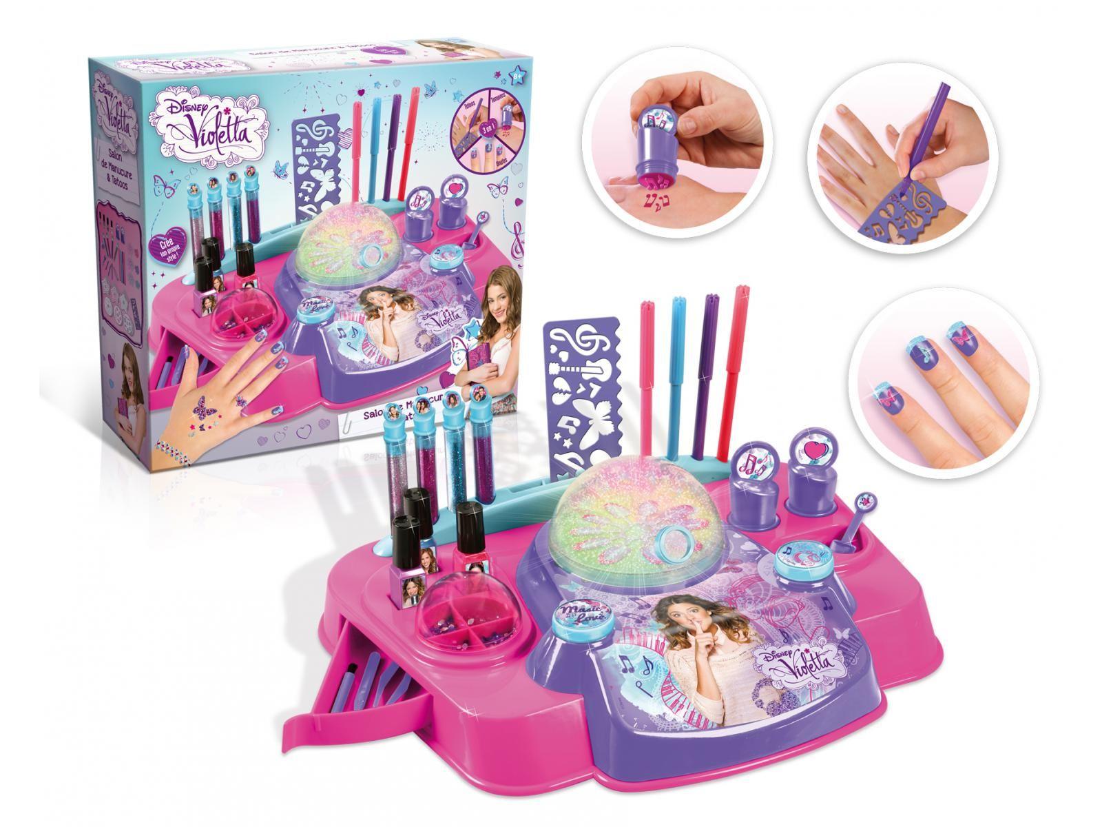 Salon de manucure violetta canal toys un v ritable for Salon pour les ongles