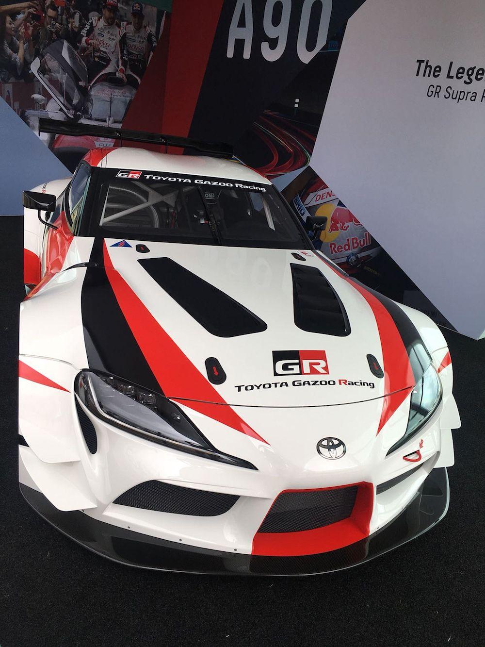 2020 Toyota Supra Fotos Videos Aus Goodwood Addicted To Motorsport Toyota Toyota Supra Marken