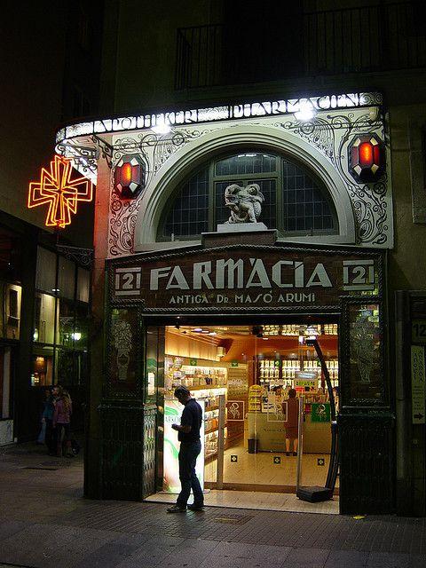 Pharmacy 2, Ramblas, Barcelona, BCN