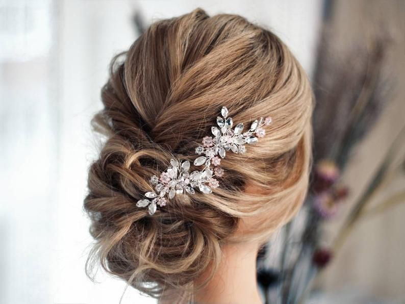 Bridal Hair Piece Wedding Headpiece Pearl Hair Vine Small Etsy In 2020 Wedding Hair Pins Crystal Wedding Hair Head Piece Bridal Hair Pieces