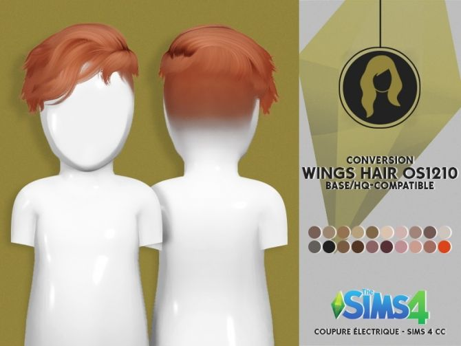WINGS HAIR OS1210 M TODDLER VERSION by Thiago Mitchell at Coupure Electrique • Sims 4 Updates