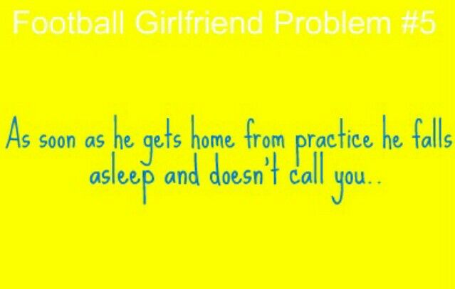 Football Girlfriend Problems | Football girlfriend, Hockey ...