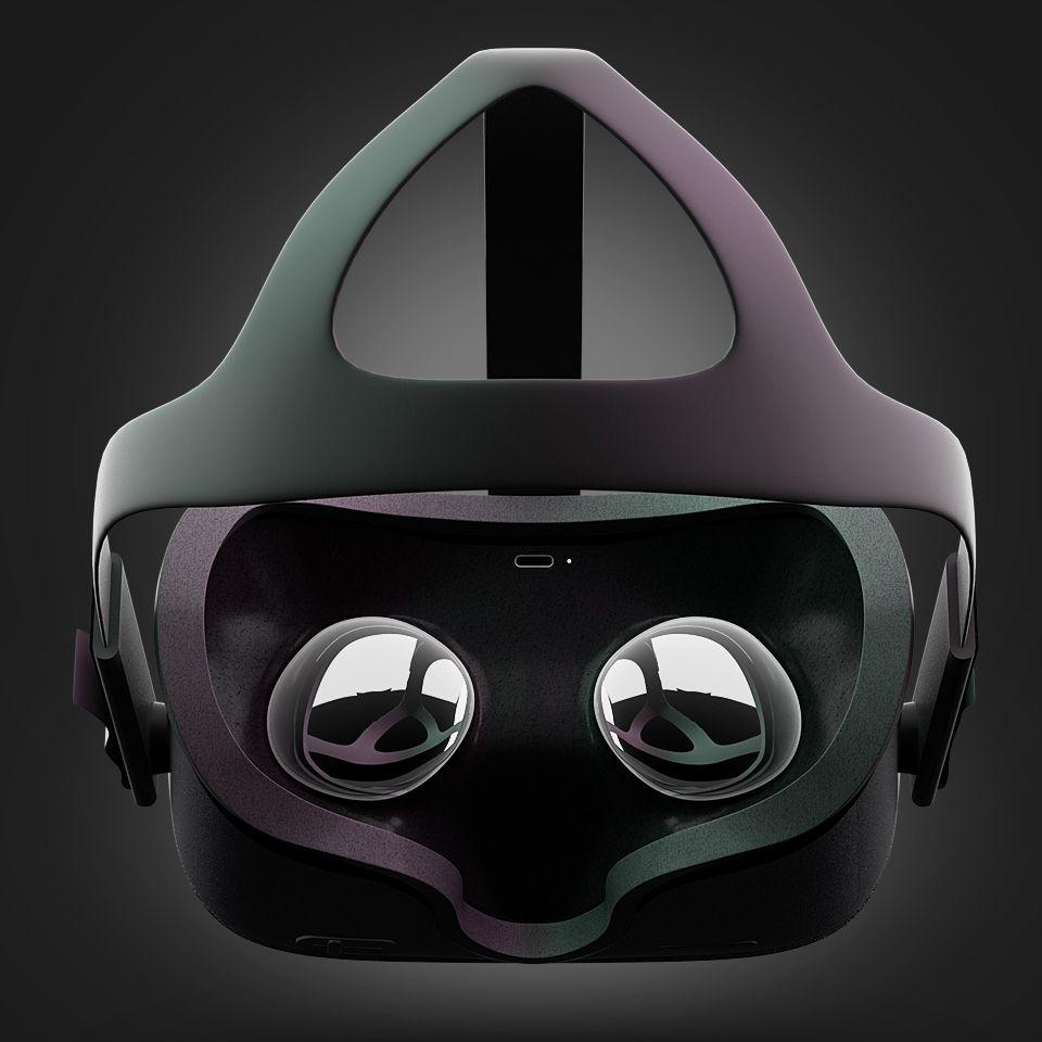 Oculus quest headset 3d model oculus install game