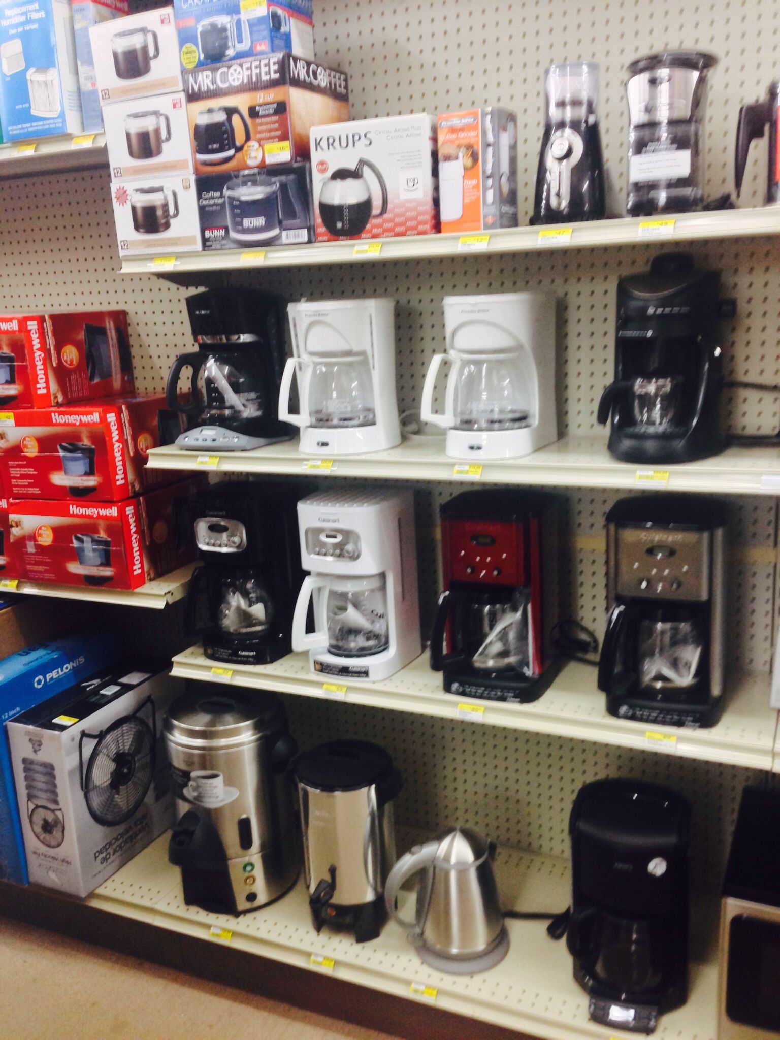 Coffee makers of all kinds at Ace Hardware Big Sky Ace