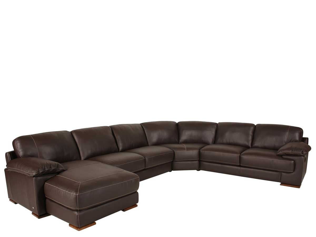 Remarkable Modern High Class Italian Leather Sectional Sofa With Chaise Machost Co Dining Chair Design Ideas Machostcouk