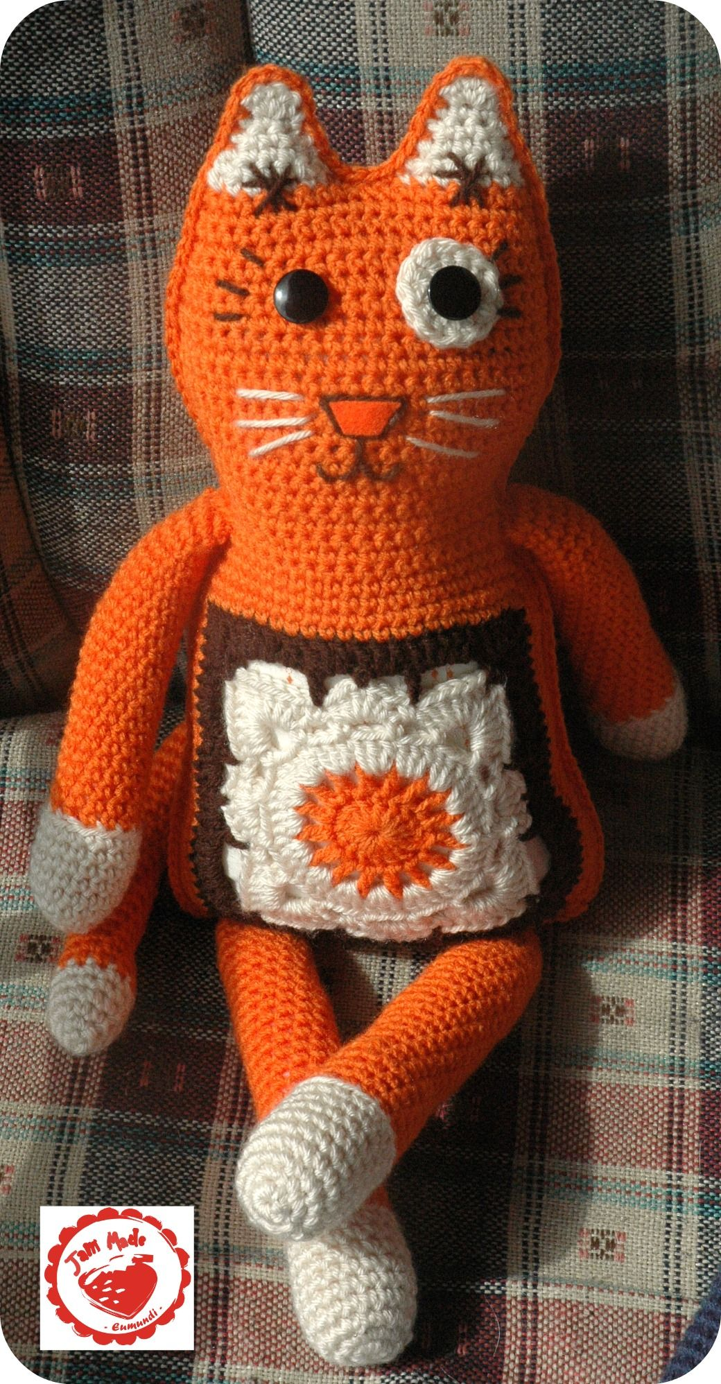 Jam made willow cat | Craft Fair Ideas | Pinterest | Häkeln