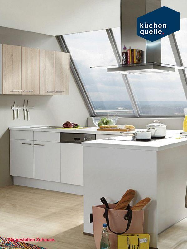 Viel Stauraum für einen kleinen Raum? Norina 1351 mit Fronten in - www küchen quelle de