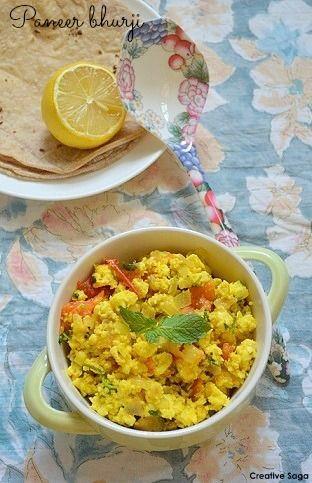 How to make Paneer bhurji - Paneer recipes
