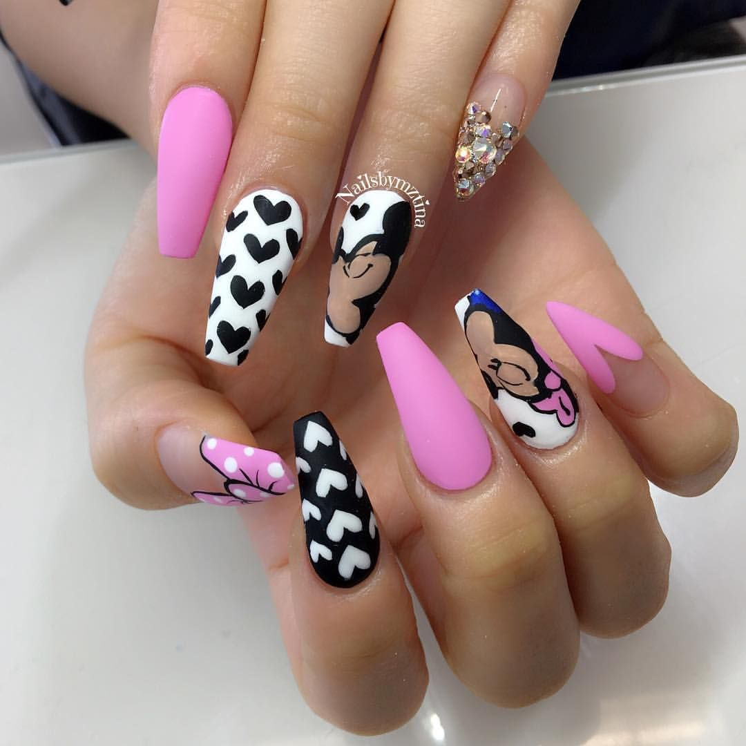 Pinterest: BlasianKeke | Awesome nails | Pinterest | Disney nails ...
