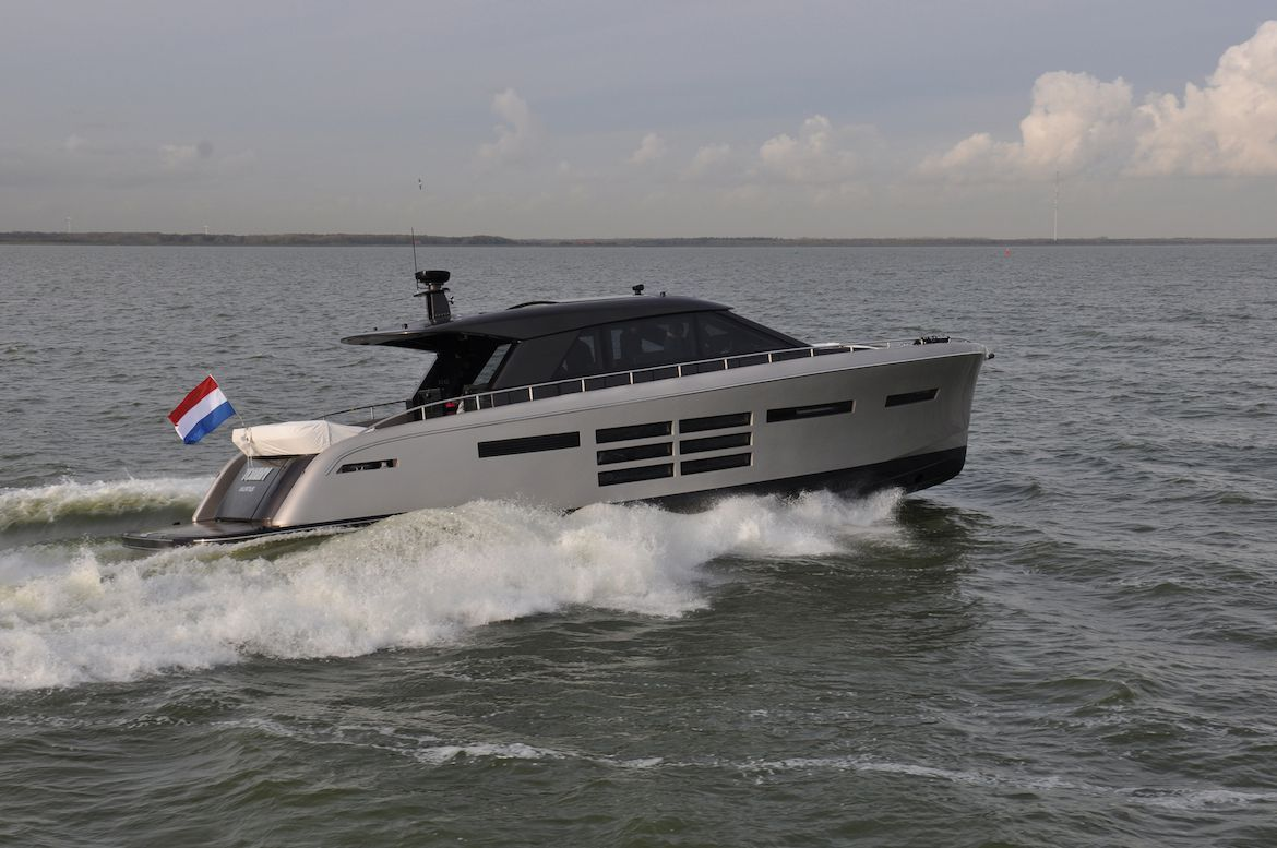 Tommy Is One Of The Smallest Motor Yachts By Dutch Yacht Builder Jongert She Was