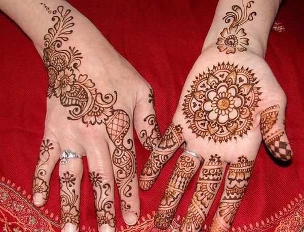 Mehndi Hand Image : Simple eid special mehndi designs for hand girls