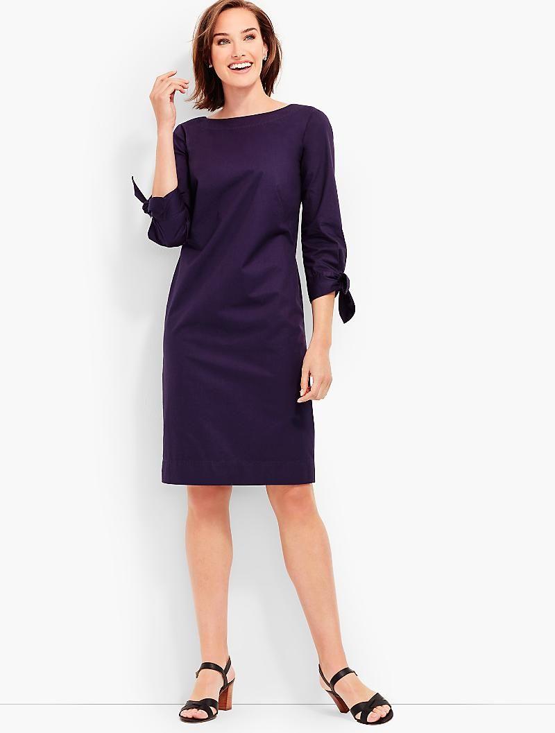 Tie Sleeve Sheath Dress Talbots Clothes For Women Clothes Dresses [ 1057 x 800 Pixel ]