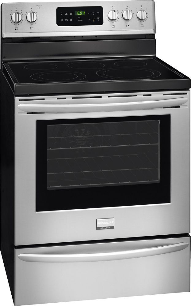 5 7 Cu Ft Freestanding Electric Range In Stainless Steel Freestanding Electric Ranges Electric Range Frigidaire Gallery
