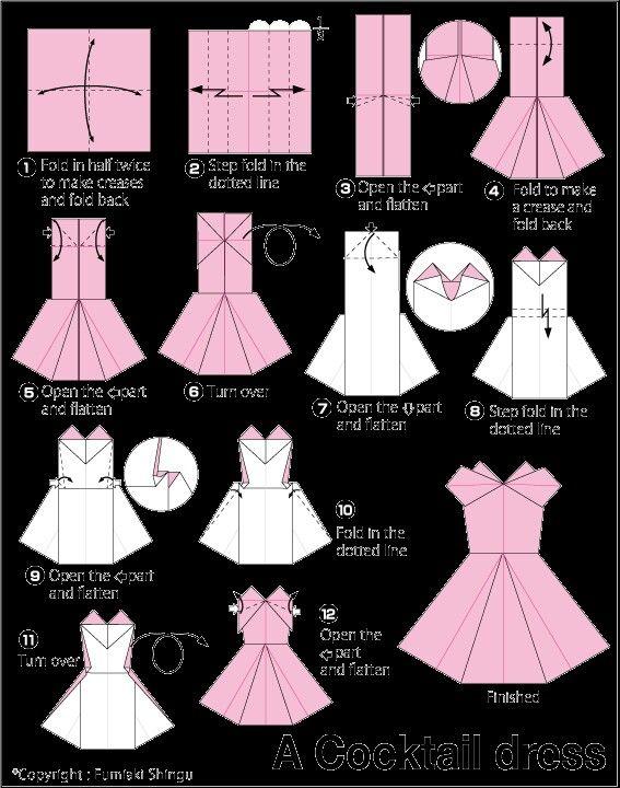 Photo of Origami dress