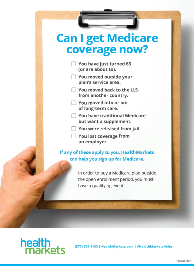 Looking For A Medicare Plan Outside Of The Open Enrollment Period