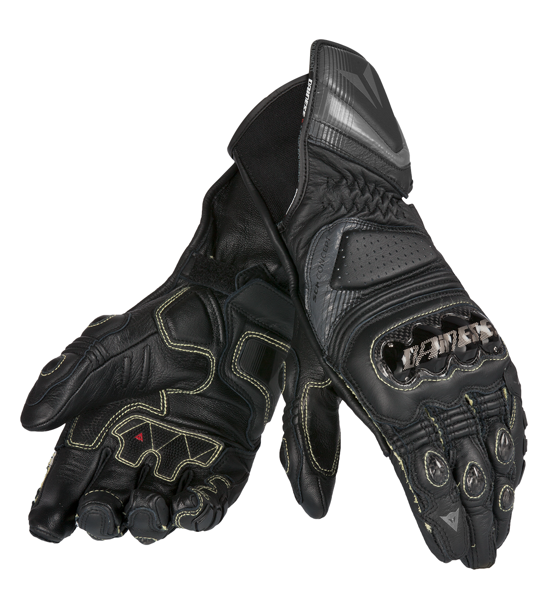 Motorcycle gloves discount - Dainese Racing Leather Motorcycle Gloves