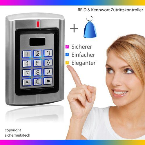 http://ift.tt/1k5Z8HO Berührungsloser RFID Codeschloss Türöffner öffnen mit RFID Transponder oder (und) Passwort 125khz Code Tastatur @buyitolp%
