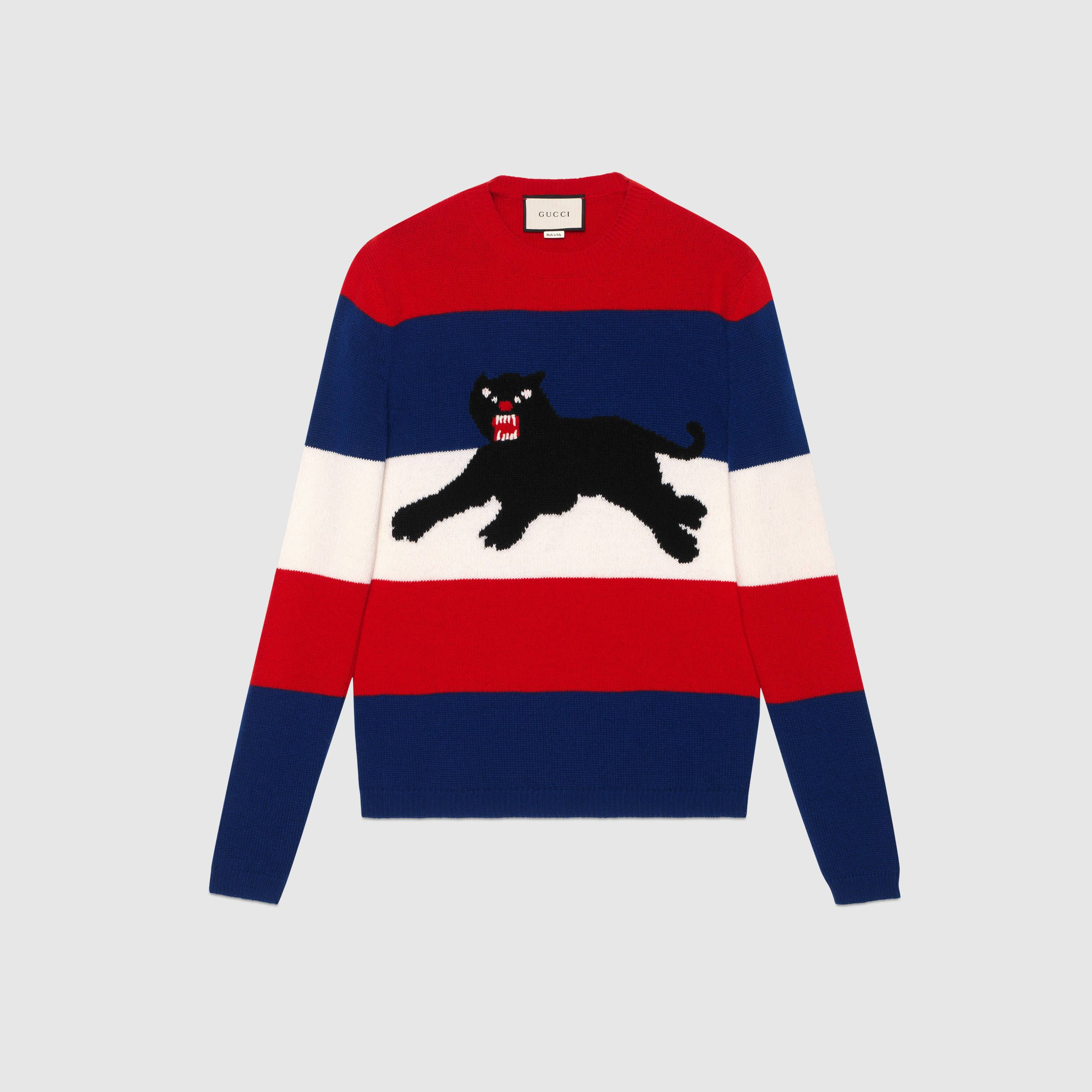 Gucci Official Site – Redefining modern luxury fashion. Men's Crewneck  SweatersWool ...