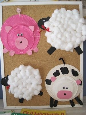 paper plates / farm animals by t. & paper plates / farm animals by t. | Arts and craft | Pinterest ...