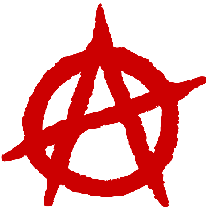 Circle A Red Anarchist Symbolism Wikipedia A Stylised Anarcho