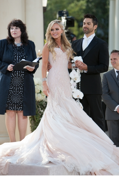 Tamara Barneys Wedding Gown Via Bravotv